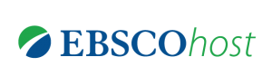 EBSCOhost logo with a green and blue sphere