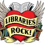Copyrighted CSLP Libraries Rock image