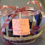 Fall for Western Romance Book Basket