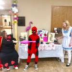 Alice in Wonderland at Halloween