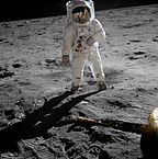 Buzz Aldrin's Moon Walk Apollo 11